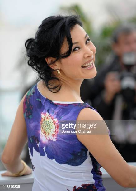 Joan Chen attends the 24 City photocall at the Palais des Festivals during the 61st Cannes International Film Festival on May 17 2008 in Cannes France