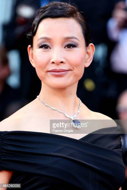 Joan Chen attends the 'Birdman' Premiere during the 71st Venice Film Festival on August 27 2014 in Venice Italy