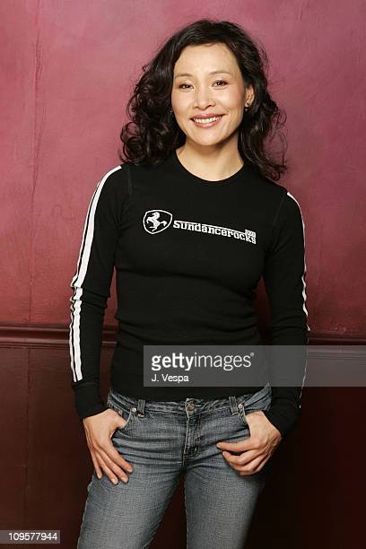 Joan Chen during 2005 Sundance Film Festival 'Saving Face' Portraits at HP Portrait Studio in Park City Utah United States