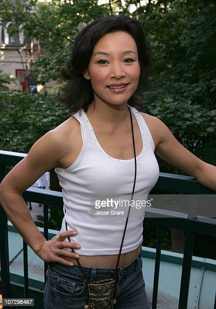 Joan Chen during 2005 Toronto Film Festival HP Portrait Studio Presented by WireImage and Inside Entertainment Day 3 at HP Portrait Studio in Toronto...