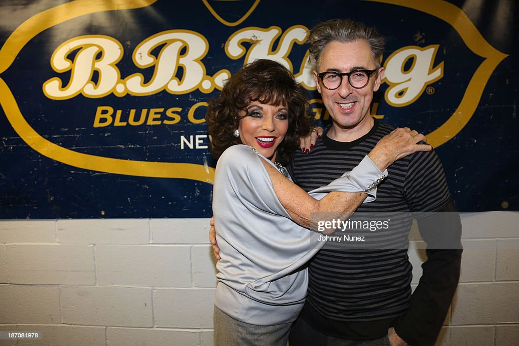 Joan Collins and Alan Cumming attend B.B. King Blues Club & Grill on November 5, 2013 in New York City.