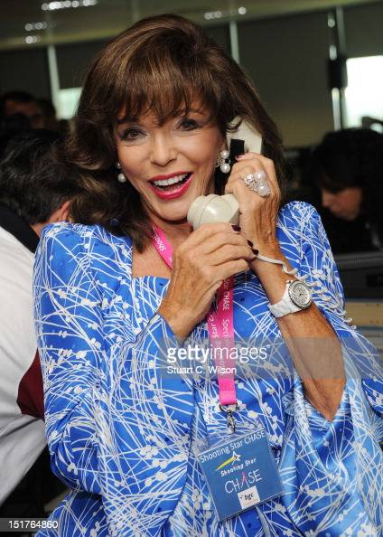 Joan Collins attends the annual BGC charity day at BGC Partners on September 11 2012 in London England