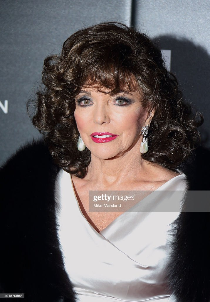 <a gi-track='captionPersonalityLinkClicked' href=/galleries/search?phrase=Joan+Collins&family=editorial&specificpeople=109065 ng-click='$event.stopPropagation()'>Joan Collins</a> attends the BFI Luminous Funraising Gala at The Guildhall on October 6, 2015 in London, England.