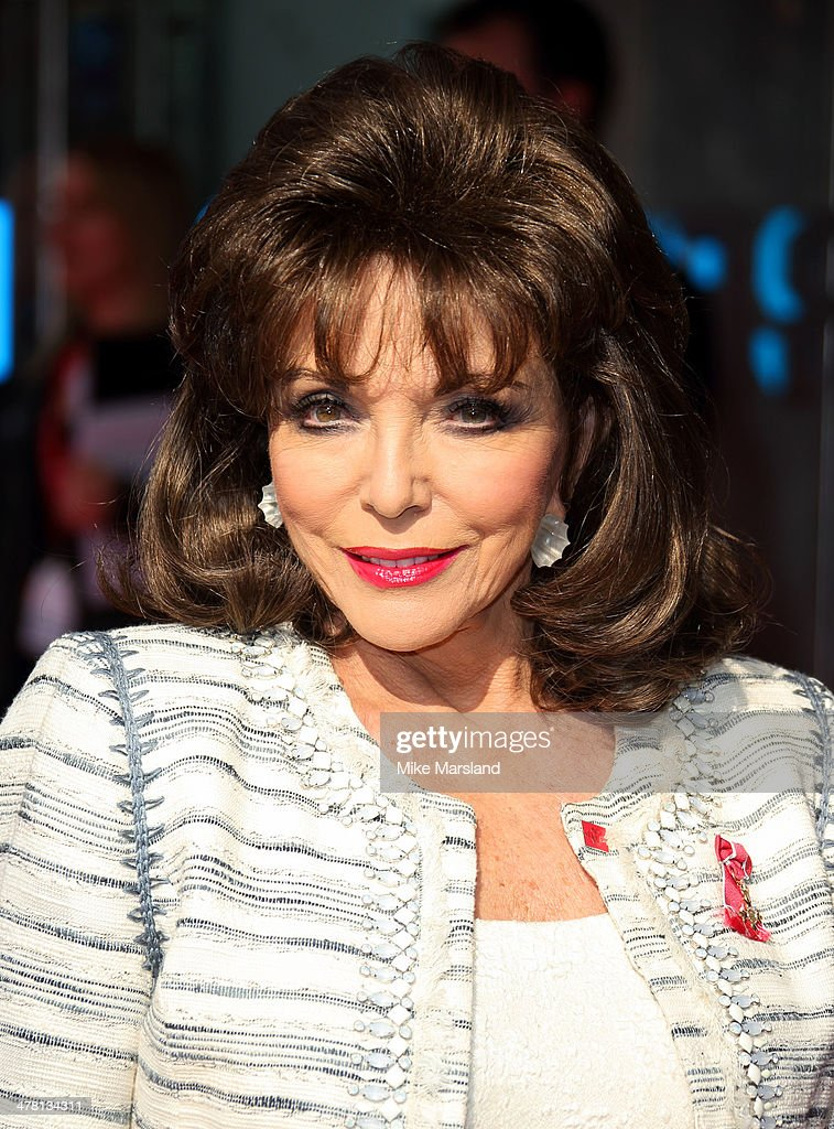 <a gi-track='captionPersonalityLinkClicked' href=/galleries/search?phrase=Joan+Collins&family=editorial&specificpeople=109065 ng-click='$event.stopPropagation()'>Joan Collins</a> attends the Prince's Trust & Samsung Celebrate Success awards at Odeon Leicester Square on March 12, 2014 in London, England.