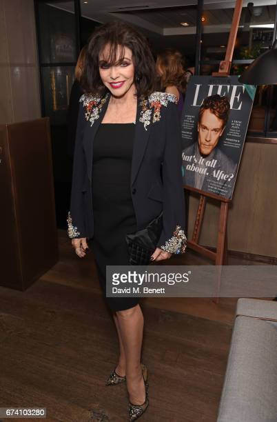 Joan Collins attends the Spectator Life 5th Birthday Party at the Hari Hotel on April 27 2017 in London England