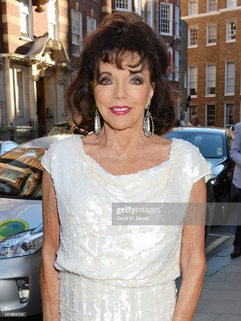 <a gi-track='captionPersonalityLinkClicked' href=/galleries/search?phrase=Joan+Collins&family=editorial&specificpeople=109065 ng-click='$event.stopPropagation()'>Joan Collins</a> attends The Spectator Summer Party at Spectator House on July 3, 2014 in London, England.