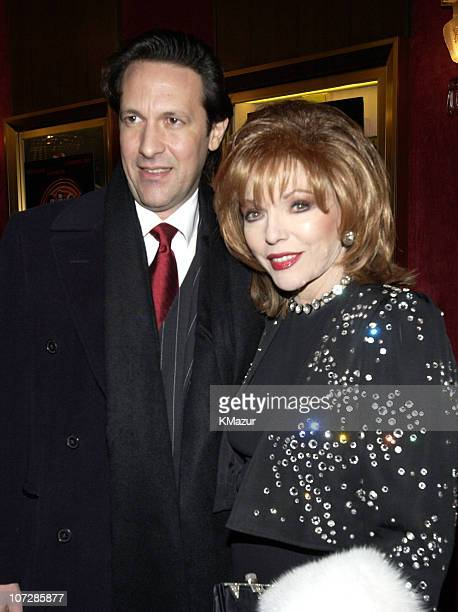 Joan Collins guest during 'Chicago' Special Screening to Benefit GLAAD and Broadway Cares Inside Arrivals at Zeigfeld Theater in New York City New...