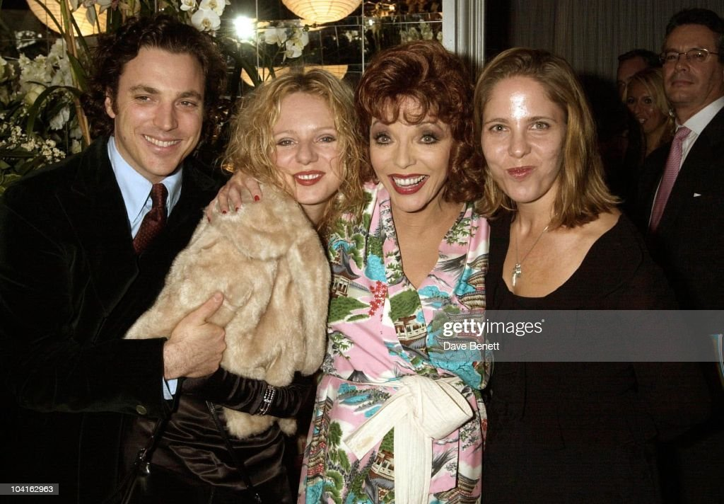Joan Collins Getty Images