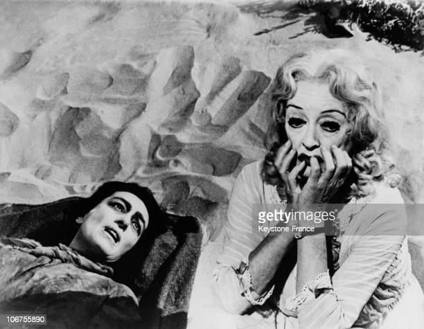 Joan Crawford And Bette Davis In The Movie Whatever Happened To Baby Jane 1962