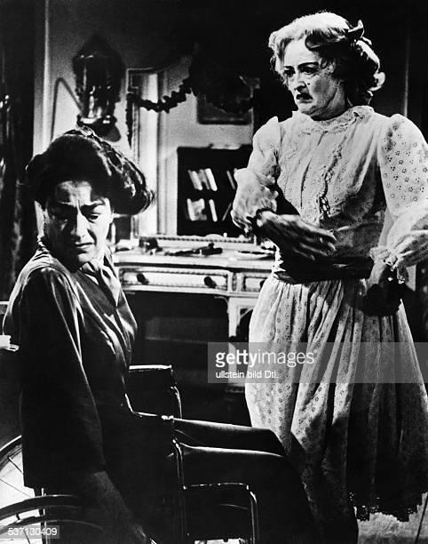 Joan CrawfordJoan CrawfordBette DavisBette Davis Actress USA and Joan Crawford in the film 'What Ever Happened to Baby Jane' directed by Robert...