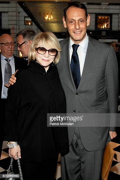 Joan Croan and Johnathan Marder attend MICHAEL VOLLBRACHT Debuts Private Collection / Evening Preview at Wally Findlay Galleries on September 16 2008...