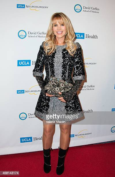 Joan Dangerfield arrives at 2014 UCLA Visionary Ball at the Beverly Wilshire Four Seasons Hotel on October 30 2014 in Beverly Hills California