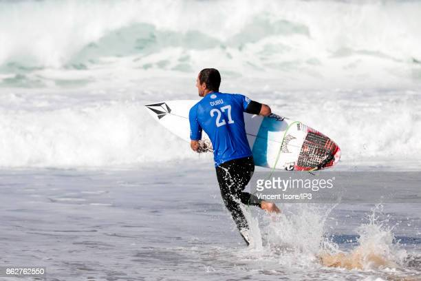 Joan Duru from France performs during the Quicksilver Pro France surf competition on October 12 2017 in Hossegor France he French stage of the World...