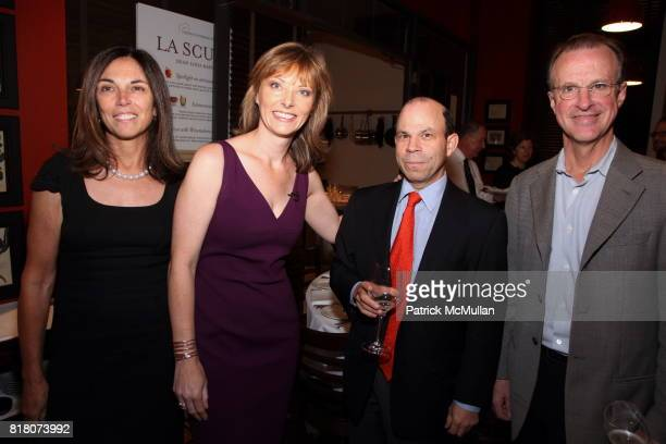 Joan Feeney Tanya Steel Steve Newhouse and Tom Wallace attend Epicurious 15th Anniversary Dinner at Eataly on September 29 2010 in New York