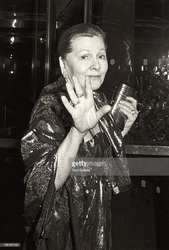 Joan Fontaine during Celebration of the Completion of MOMA's Expansion Project at Museum of Modern Art in New York City, New York, United States.