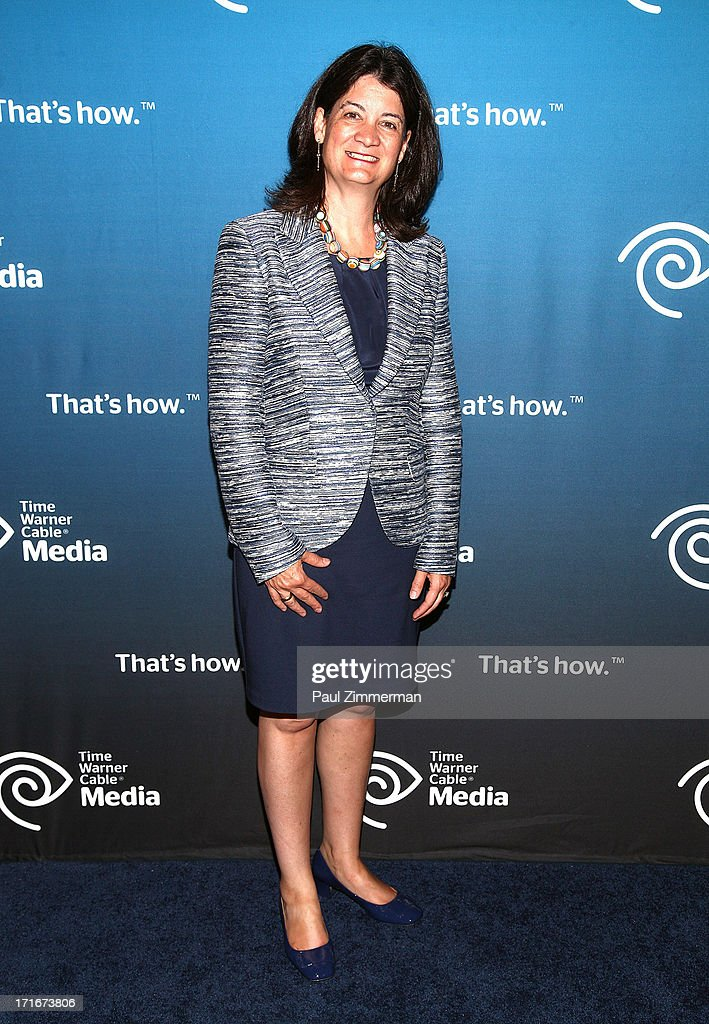 Joan Gillman attends Time Warner Cable Media's 'View From The Top' Upfront at Jazz at Lincoln Center on June 27, 2013 in New York City.