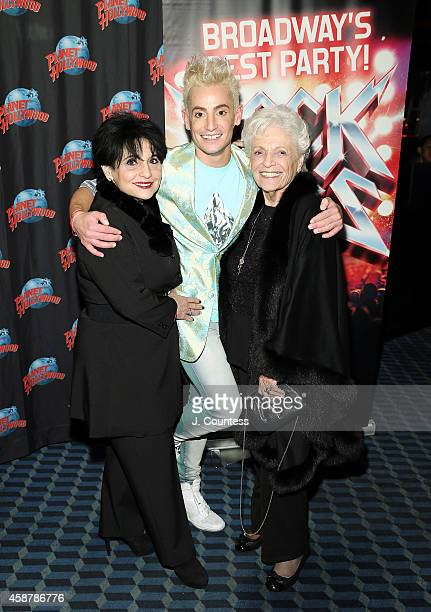 Joan Grande Actor/dancer Frankie J Grande and Marj Grande attend the afterparty for the debut performance debut performances of Frankie J Grande...