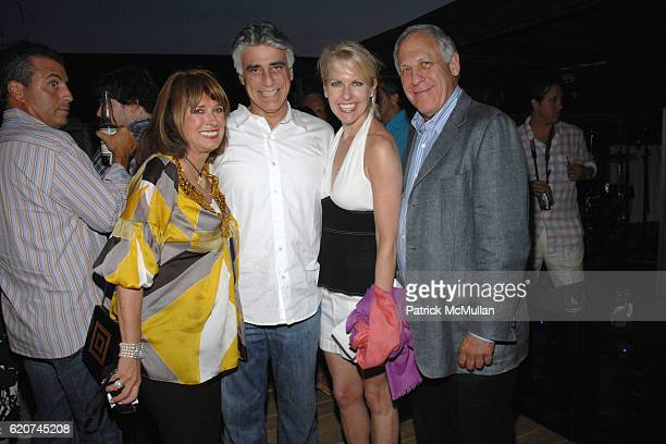 Joan Jedell Jeff Stein Monica Crowley and Marvin Rosen attend Joan Jedell's Hampton Sheet Party Celebrating their July Cover Girl Diane Passage at...