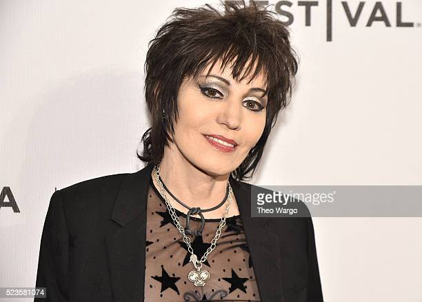 Joan Jett attends 'Geezer' Premiere 2016 Tribeca Film Festival at Spring Studios on April 23 2016 in New York City