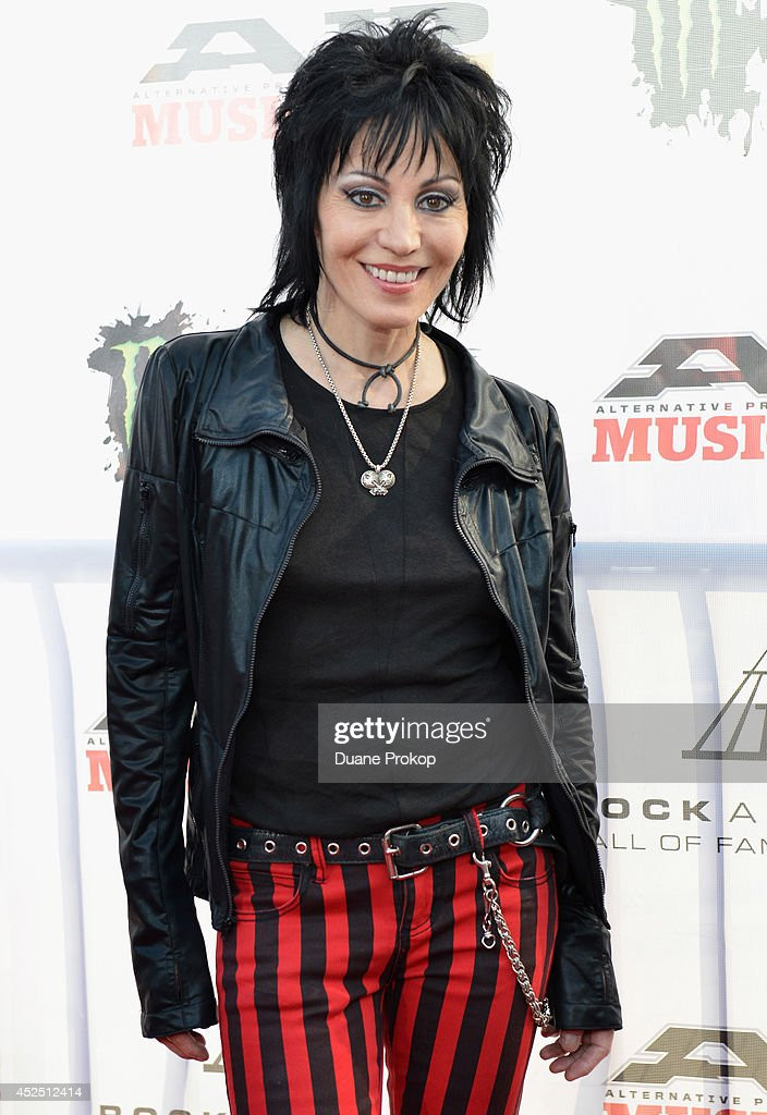<a gi-track='captionPersonalityLinkClicked' href=/galleries/search?phrase=Joan+Jett&family=editorial&specificpeople=213317 ng-click='$event.stopPropagation()'>Joan Jett</a> attends the 2014 Gibson Brands AP Music Awards at the Rock and Roll Hall of Fame and Museum on July 21, 2014 in Cleveland, Ohio.