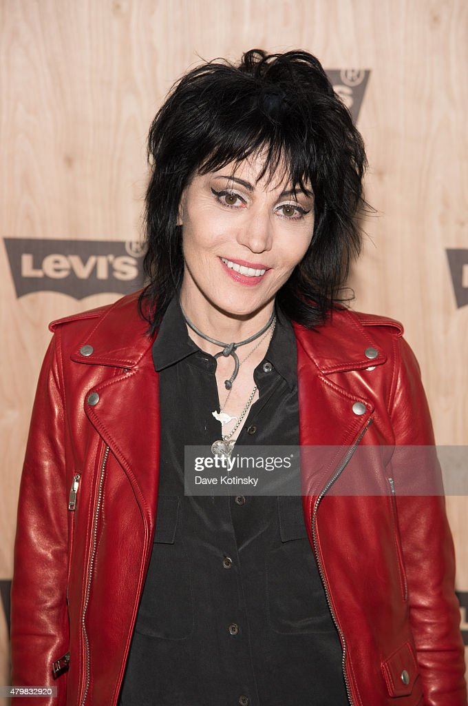 Joan Jett attends the Levi's Women's Collection Exhibition Launch at The Levi's Store Times Square on July 7, 2015 in New York City.