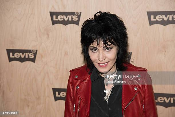 Joan Jett attends the Levi's Women's Collection Exhibition Launch at The Levi's Store Times Square on July 7 2015 in New York City