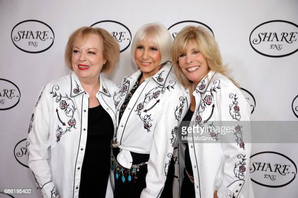 Joan Kardashian Ellen Feder and Anita Mann Kohl pose for a photo before the 64th Annual Boomtown 2017 Gala 'Let's Dance' at The Beverly Hilton Hotel...