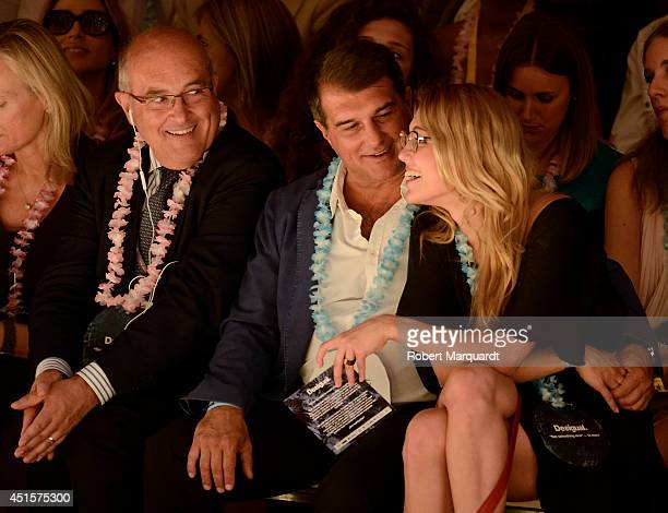 Joan Laporta is seen during the '080 Barcelona Fashion Week' on July 1 2014 in Barcelona Spain