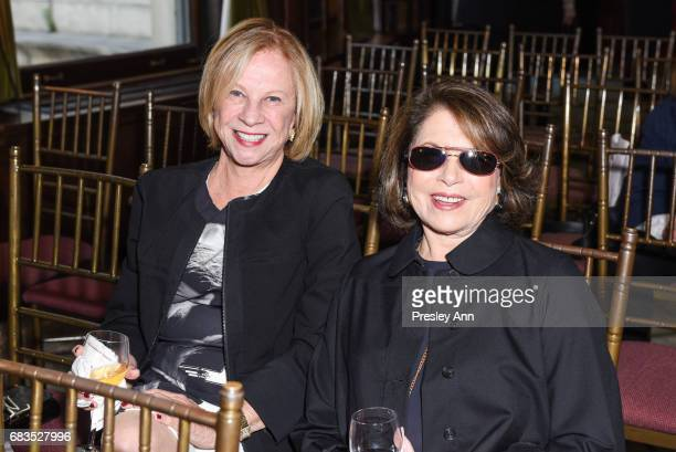 Joan Lazeras and Myrna Haft attend Audrey Gruss' Hope for Depression Research Foundation Dinner with Author Daphne Merkin at The Metropolitan Club on...