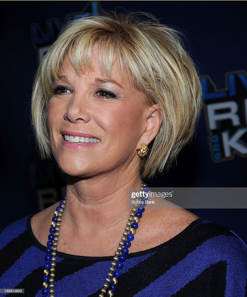 <a gi-track='captionPersonalityLinkClicked' href=/galleries/search?phrase=Joan+Lunden&family=editorial&specificpeople=206769 ng-click='$event.stopPropagation()'>Joan Lunden</a> attends Regis Philbin's Final Show of 'Live! with Regis & Kelly' at the Live with Regis & Kelly Studio on November 18, 2011 in New York New York.