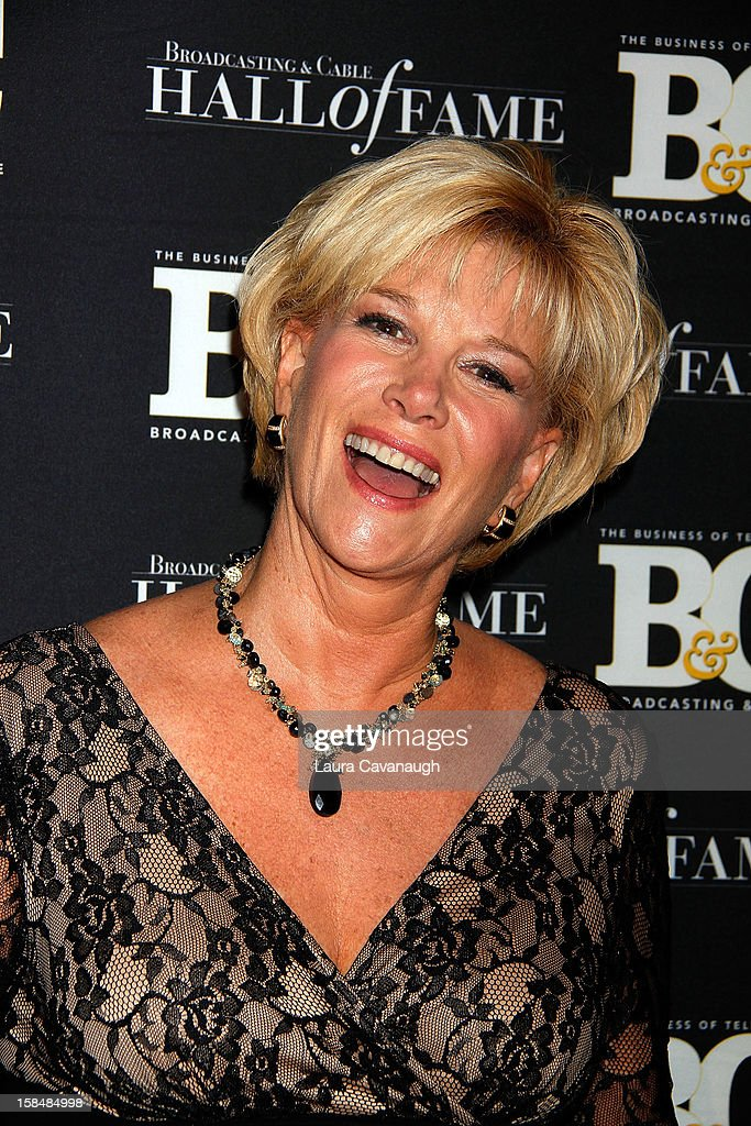 <a gi-track='captionPersonalityLinkClicked' href=/galleries/search?phrase=Joan+Lunden&family=editorial&specificpeople=206769 ng-click='$event.stopPropagation()'>Joan Lunden</a> attends the 2012 Broadcasting & Cable Hall of Fame Awards at The Waldorf=Astoria on December 17, 2012 in New York City.
