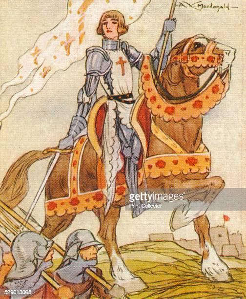 Joan of Arc 15th century French patriot and martyr' Claiming divine inspiration Joan of Arc persuaded Charles VII to declare himself King of France...