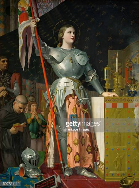 Joan of Arc at the Coronation of Charles VII in the Cathedral at Reims Found in the collection of Louvre Paris