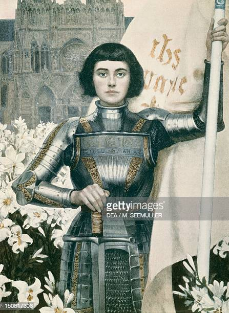 Joan of Arc engraving from Figaro Illustre magazine 1903