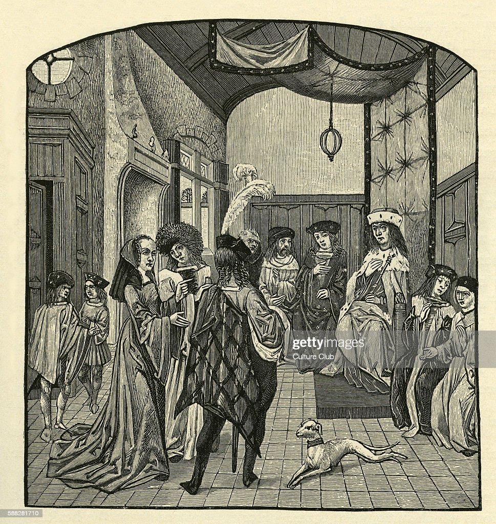 Joan of Arc identifying the Dauphin at Chinon France in March 1429 Joan of Arc military heroine and saint