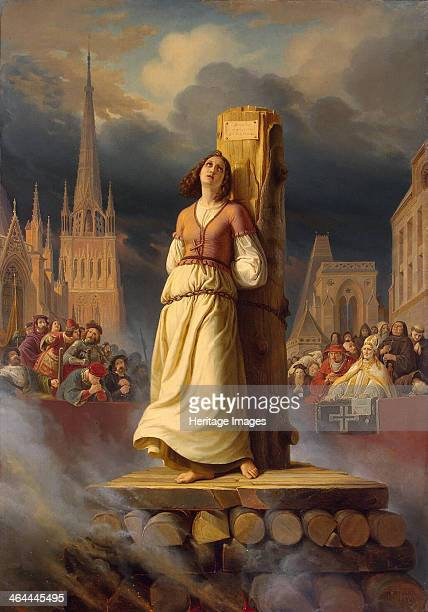 Joan of Arc's Death at the Stake 1843 Found in the collection of the State Hermitage St Petersburg