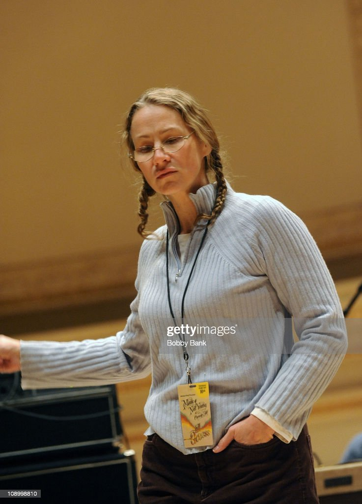 <a gi-track='captionPersonalityLinkClicked' href=/galleries/search?phrase=Joan+Osborne&family=editorial&specificpeople=984585 ng-click='$event.stopPropagation()'>Joan Osborne</a> rehearses for The Music of Neil Young at Carnegie Hall on February 10, 2011 in New York City.