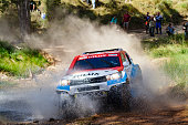 Joan quotNaniquot Roma Alex Haro / Toyota hilux Overdriver / Overdrive Racing Team during Baja Aragon World Rally Cross Road event celebrated in...