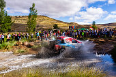 Joan quotNaniquot Roma Alex Haro / Toyota hilux Overdriver / Overdrive Racing Team during Baja Aragon World Cross Country Rally event celebrated in...