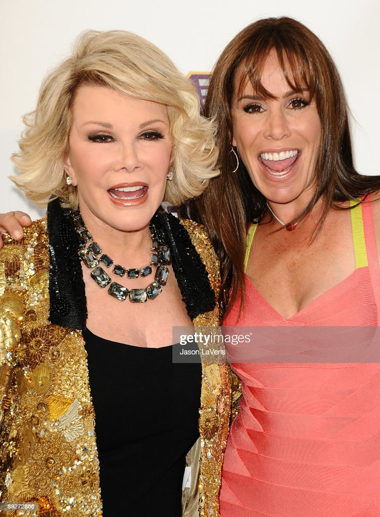 Joan Rivers and daughter Melissa Rivers attend Comedy Central's 'Roast of Joan Rivers' at CBS Studios on July 26, 2009 in Studio City, California.