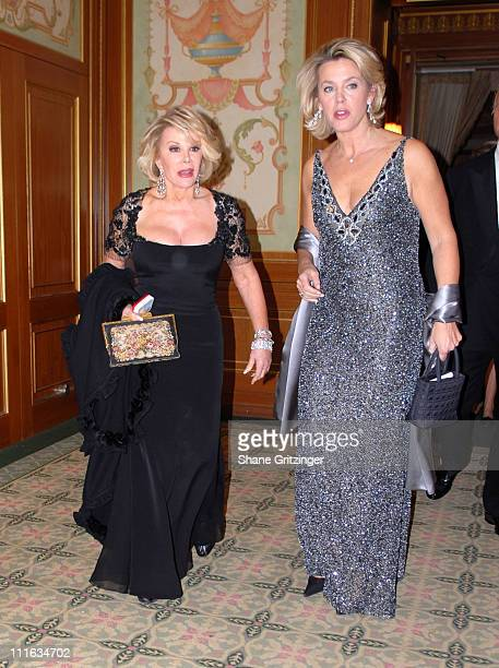 Joan Rivers and Deborah Norville during The New York Society for the Prevention of Cruelty to Children 2006 Gala at Pierre Hotel in New York City New...