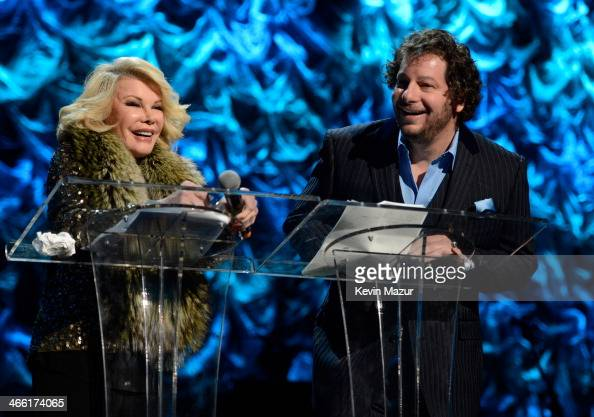 Joan Rivers and Jeff Ross attend 'Howard Stern's Birthday Bash' presented by SiriusXM produced by Howard Stern Productions at Hammerstein Ballroom on...