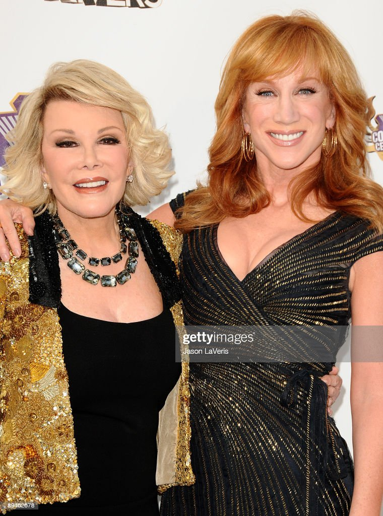 Joan Rivers and Kathy Griffin attend Comedy Central's 'Roast of Joan Rivers' at CBS Studios on July 26, 2009 in Studio City, California.
