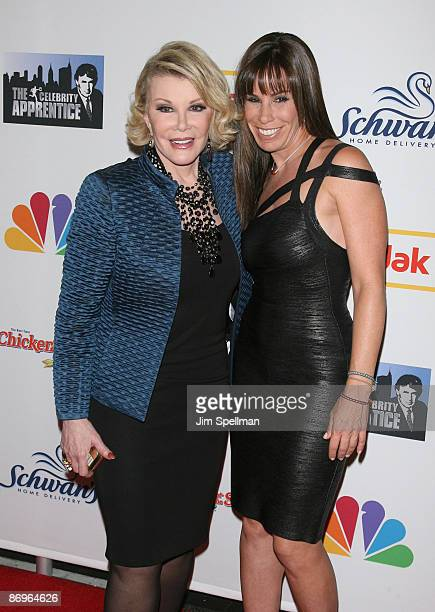 Joan Rivers and Melissa Rivers attend 'The Celebrity Apprentice' season finale at the American Museum of Natural History on May 10 2009 in New York...