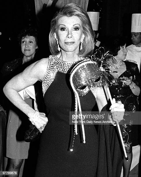 Joan Rivers at Metropolitan Opera House auction to benefit Citymeals on Wheels