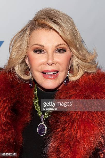 Joan Rivers attends An Evening With Joan And Melissa Rivers at the 92nd Street Y on January 22 2014 in New York City