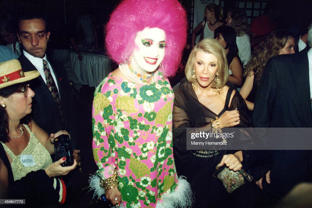 <a gi-track='captionPersonalityLinkClicked' href=/galleries/search?phrase=Joan+Rivers&family=editorial&specificpeople=159403 ng-click='$event.stopPropagation()'>Joan Rivers</a> attends 'Boathouse Rocks 2' AMFAR Benefit in Central Park on June 22, 1993 in New York City.
