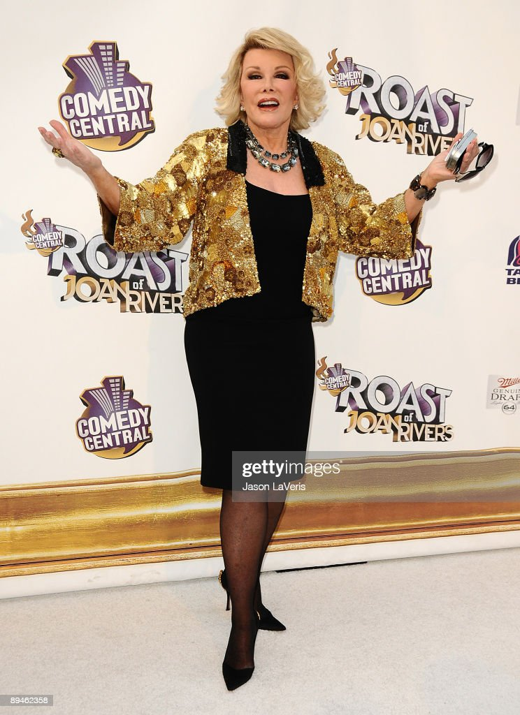 Joan Rivers attends Comedy Central's 'Roast of Joan Rivers' at CBS Studios on July 26, 2009 in Studio City, California.