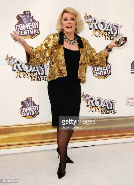Joan Rivers attends Comedy Central's 'Roast of Joan Rivers' at CBS Studios on July 26 2009 in Studio City California
