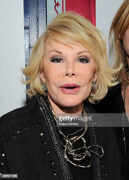 Joan Rivers attends the 53rd San Francisco International Film Festival Closing Night Premiere of 'Joan Rivers A Piece of Work' on May 6 2010 in San...